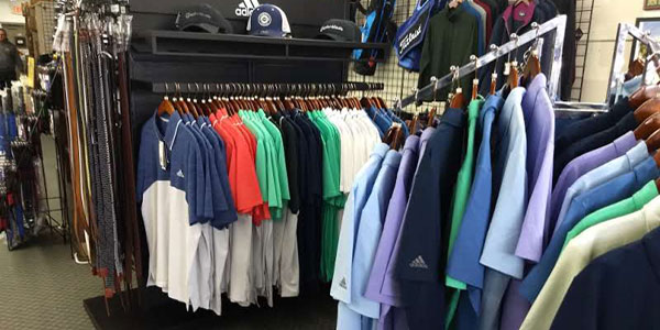Anne Arundel Mens golf apparel 2018